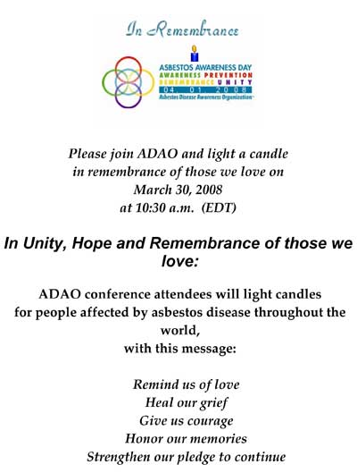 ADAO remembranceservice